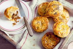 Valli Little's mini beef mince pies makes use of some of our favourite Aussie ingredients.