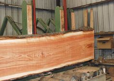 Nice table-top cherry log. Most slabs show some light to medium figure, and the color runs WILD throughout the entire flitch! ~ Hearne Hardwoods Inc.