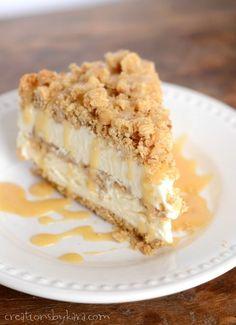 Every bite of this Caramel Crunch Dessert is scrumptious!!