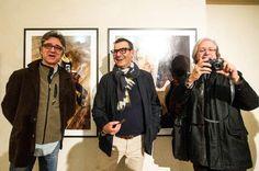Alla mostra Rewind con Guido Harari e Gaetano Curreri (Fotoschicchi)