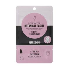 Rejuvenate and cleanse your skin with this facial sheet mask that comes with a hydrating face serum. Charcoal Face Mask, Sheet Mask, Face Serum, Rose Water, Your Skin, Facial, Free, Cosmetics, Beauty