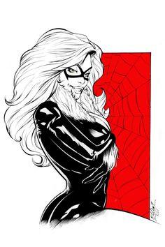 429 Likes, 1 Comments - Elliot Fernandez Marvel Women, Marvel Girls, Comics Girls, Marvel Art, Marvel Comics, Spiderman Black Cat, Spiderman Girl, Black Cat Marvel, Female Comic Characters