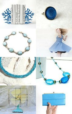 whirling blues by Lynn McPherson on Etsy--Pinned with TreasuryPin.com