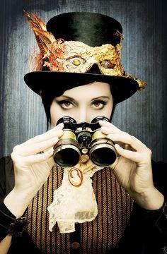 Steampunk Girl  http://steampunk-girl.tumblr.com/ #SteamPUNK ☮k☮ Girl