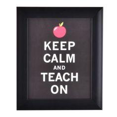 Teach on