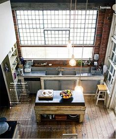 loft kitchen http://beta.trendsideas.com