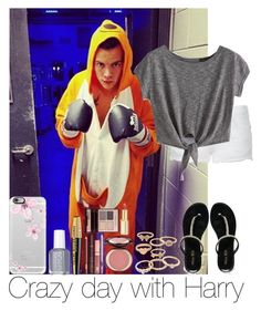 """""""Crazy Day With Harry"""" by hazzgirl03 ❤ liked on Polyvore"""