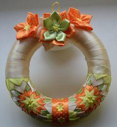 Věneček na dveře č. 2 :: Creative ribbons
