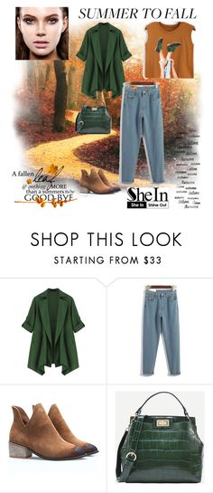"""""""SHEIN: Camel Graphic Print Crop Top"""" by rmhodgdon ❤ liked on Polyvore featuring shein and plus size clothing"""