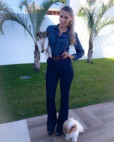 BOM DIA com look de ontem pq ele merece!!!  #tbt #lookdodia #ootd #lookdesabado #alljeans #macacao #fiquelinda #temnacartao #fashionblogger #fashionlook #instablog #blogger #lubyyou #cartaodamoda