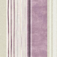 Watercolour Stripe Fabric | Dunelm