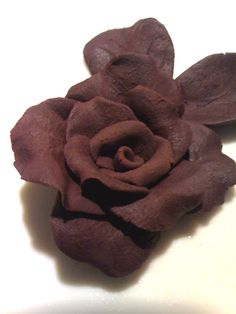 brown, chocolate little rose