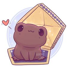 Have a little Chocolate Frog ✨ ✨ Should I draw more Kawaii Harry Potter food? Any requests? Now I will never eat a chocolate frog again -The one wizard/witch who has a phone and the internet is god damn amazing☆ Fanart Harry Potter, Harry Potter World, Harry Potter Kawaii, Magia Harry Potter, Wallpaper Harry Potter, Arte Do Harry Potter, Cute Harry Potter, Harry Potter Pictures, Harry Potter Drawings