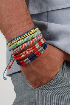#Bracelets #Men's #Man #Look #Style #Fashion