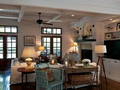 my favorite beach house #Coastal Living #Coastal Decorating Ideas