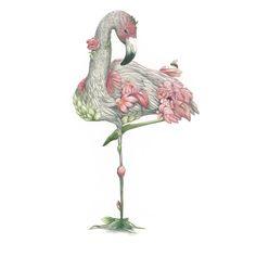 Image of Flamingo Pink Print