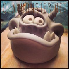 (1) Claymonster Pottery