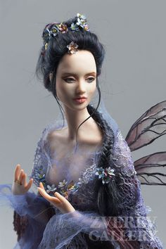 Marina Pribelskaya art dolls  asian fairy