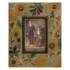 Dayita Handpainted Wood Photo Frame - 4 x 6