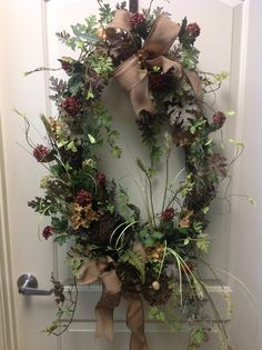 Fall wreath at something special