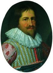Christian 4. Maleri af den hollandske kunstner David Bailly, ca. 1630 - Som bygherre satte Christian 4. sit præg på det københavnske bybillede med så markante bygningsværker som Børsen (1619-25), Regensen (1618-28), Rosenborg Slot (1634) og Rundetårn (1642) samt anlægget af bydelene Christianshavn (1618) på en kunstig ø med kanaler og Nyboder (1630'erne) med rækkehuse til flådens mandskab. Endvidere om- og udbyggede han de kongelige slotte Frederiksborg (1602-20), Kronborg og Københavns…