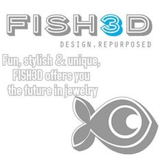 FISH3D jewelry www.etsy.com/shop/FISH3Ddesigns