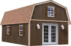 Shed small house available through home depot would for Home depot two story house