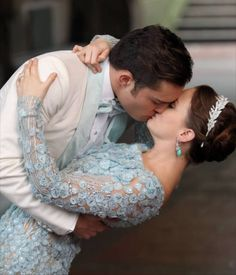 Gossip girl, blair and chuck's wedding.  Stunning clothes and accessories.  love the look