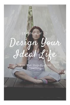 This step-by-step program will teach you how to design your ideal life that you can't wait to wake up for. // Life With Krissy -- #selflove #goalsetting #motivation