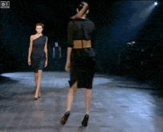 Walking in heels requires all of your mental effort.