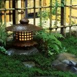 This article has great ideas for making the back yard into a Japanese garden style.
