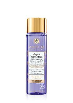 Découvrez Aqua hypnotica, Nourrir/Réparer/Apaiser de Sanoflore Laboratoire Bio. Essence botanique défatigante yeux & cils