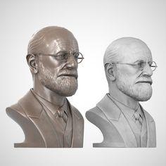 Bust of Sigmund Freud
