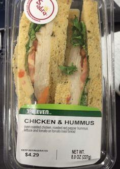 7-Eleven Chicken Hummus