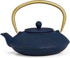 Bredemeijer Group Linhai Teekanne im asiatischen Stil aus hochwertigem Gusseisen #Tee #Krug #Dunkelblau #Blau #Haushalt #Galaxus