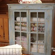 Gone with the Hunter Green, in with the Blue Montana Sky. Stocked with… :: Hometalk