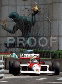 Ayrton Senna: 1988