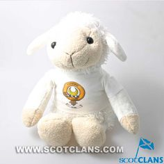 Soft Toy Lamb with D