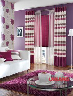 Unland Dario, Fensterideen, Vorhang, Gardinen und Sonnenschutz - curtains, contract fabrics, pleated blinds, roller blinds and more. Made in Germany
