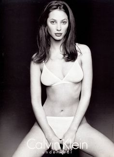 Christy Turlington for Calvin Klein Underwear 1995