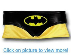 Batman Logo Juniors Panty with Cape