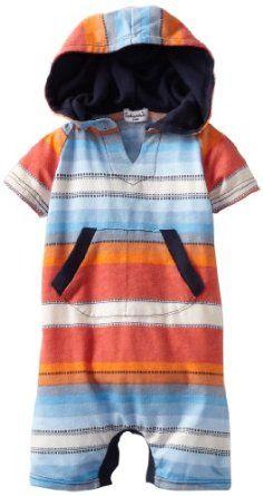 Amazon.com: Splendid Littles Baby-Boys Newborn Native Stripe Romper: Clothing