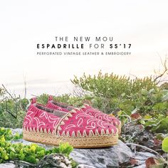 Back to nature with the new mou espadrilles s/s collection 2017.