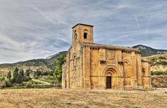 Santa María de la Piscina, S. XII - Peciña, municipio de San Vicente de la Sonsierra, La Rioja