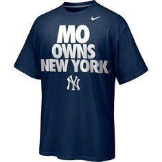 330d1d795 Nike Mariano Rivera New York Yankees Player Owns City T-Shirt - Navy Blue