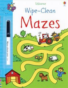 Show details for Wipe-Clean Mazes
