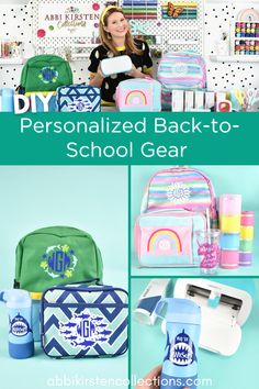 Get the kids ready for back-to-school by customizing their school gear! I teamed up with Michaels Craft Store and my Cricut Joy machine, which made it super easy and fast to add personal details to my kid's backpacks, lunch boxes, notebooks, and water bottles! I went matless with my Cricut Joy and used Smart Vinyl and Smart Iron-on, making this project a breeze and easy enough for me to say, yes, to all my kid's custom requests.