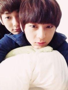 Min & Ron - I <3 Umma and Appa Hwang-Kwak he he he :D