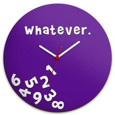 Relógio de Parede Whatever :: Hmmm