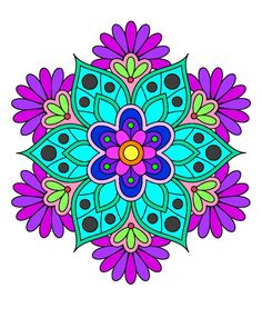 My art Flower Art, Art Flowers, Mandala Art, Pattern Art, Zentangle, My Arts, Tapestry, Floral, Designer Dresses